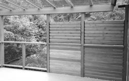 Have an AAA Deck Builder Install Your Outdoor Privacy Wall or Wind Wall Panel