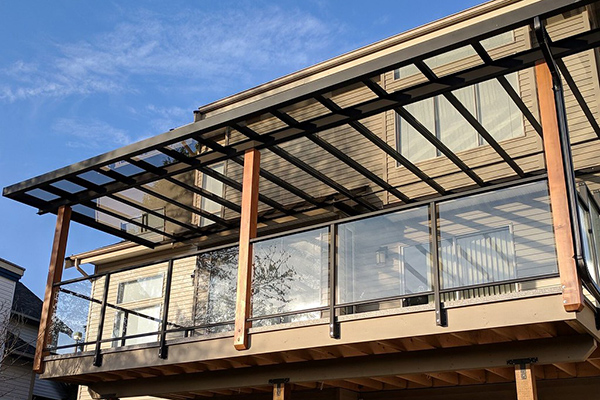 Install Covered Patio Glass on Your Residential or Commercial Property