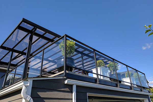 Our Unique Glass Railing System is Guaranteed for 20 Years